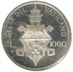 Mynt > 1000lire, 1978 - Vatikanstaten  - reverse