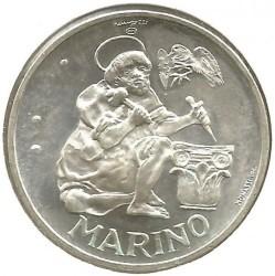Moneta > 500lire, 1975 - San Marino  (Scultore) - reverse
