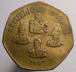 Mynt > 5gourdes, 2007 - Haiti  - reverse