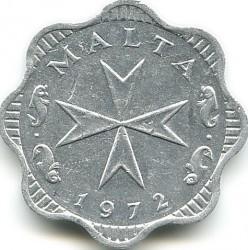 Монета > 2миля, 1972-2007 - Мальта  - obverse