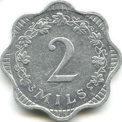 Монета > 2миля, 1972-2007 - Мальта  - reverse