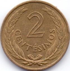 Νόμισμα > 2Σεντέσιμος, 1960 - Ουρουγουάη  - reverse