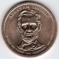 Mynt > 1dollar, 2010 - USA  (President of the USA - Abraham Lincoln (1861-1865)) - obverse