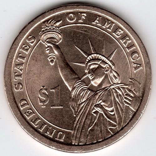 abraham lincoln 1 dollar coin 1861