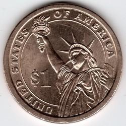 Mynt > 1dollar, 2010 - USA  (President of the USA - Abraham Lincoln (1861-1865)) - reverse