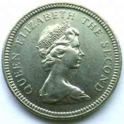 מטבע > 10פנס, 1998-1999 - איי פוקלנד  - obverse