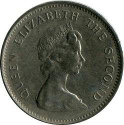 מטבע > 5פנס, 1974-1992 - איי פוקלנד  - obverse