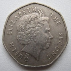 Coin > 20pence, 2004-2011 - Falkland Islands  - obverse