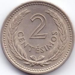 Monedă > 2centésimo, 1953 - Uruguay  - reverse