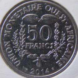 Moneda > 50francs, 2012-2019 - Àfrica Occidental (BCEAO)  - reverse