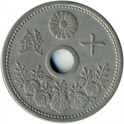 Coin > 10sen, 1920-1926 - Japan  - reverse