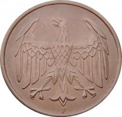 Münze > 4Reichspfennig, 1932 - Deutschland  - obverse