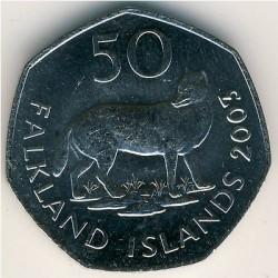 מטבע > 50פנס, 2003-2004 - איי פוקלנד  - reverse