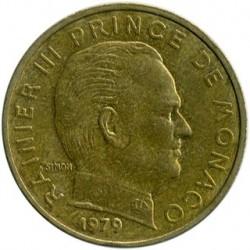 Munt > 10centimes, 1962-1995 - Monaco  - obverse
