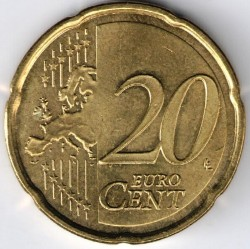 Coin > 20cents, 2014-2016 - Andorra  - obverse
