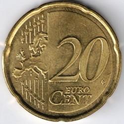 Coin > 20cents, 2014-2016 - Andorra  - reverse