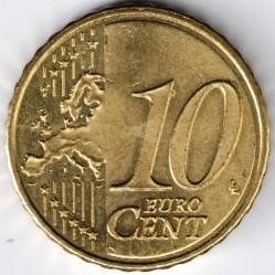 Coin > 10cents, 2014-2015 - Andorra  - obverse