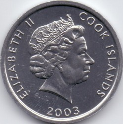 Mynt > 1 cent, 2003 - Cook Islands  (Tupp) - obverse