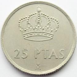 Moneta > 25peset, 1982-1984 - Hiszpania  - obverse