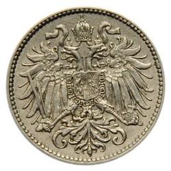 Монета > 10гелерів, 1892-1911 - Австрія  - reverse