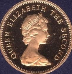 سکه > ½پنی, 1974-1983 - جزایر فالکلند  - obverse