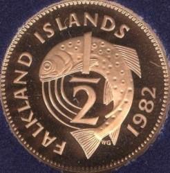 سکه > ½پنی, 1974-1983 - جزایر فالکلند  - reverse