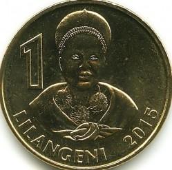Moneta > 1lilangeni, 2015 - Suazi  - reverse