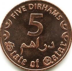 Moneta > 5dirhamai, 2016 - Kataras  - reverse