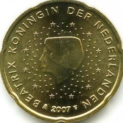 Moneda > 20centavos, 2007-2013 - Países Bajos  - obverse