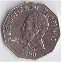 Mynt > 2piso, 1990 - Filippinene  - obverse