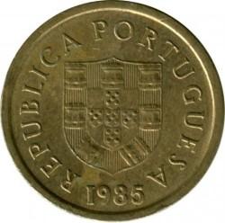 Монета > 1ескудо, 1981-1986 - Португалия  - obverse
