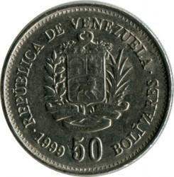 Νόμισμα > 50Μπολιβάρες, 1999 - Βενεζουέλα  - obverse