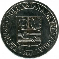 Moneta > 12½sentimo, 2007 - Venesuela  - obverse