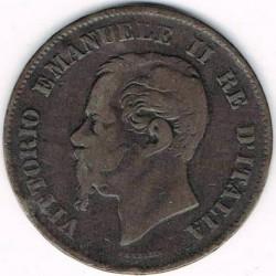 Монета > 5чентезимо, 1861-1867 - Італія  - obverse