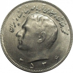Moneda > 10rials, 1977-1978 - Iran  - obverse