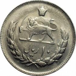 Moneda > 10rials, 1977-1978 - Iran  - reverse