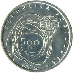 Moneta > 500escudo, 2001 - Portugalia  (Porto - Europejska Stolica Kultury) - obverse
