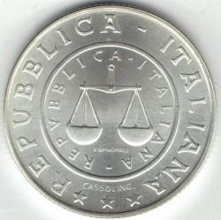 سکه > 1لیره, 2001 - ایتالیا  (History of the Lira - Lira of 1951) - obverse