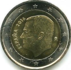 Coin > 2euro, 2015-2019 - Spain  - obverse
