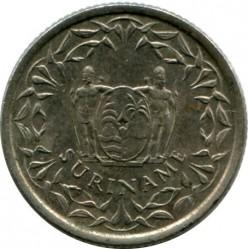 العملة > 10سنت, 1962-1986 - سورينام  - obverse
