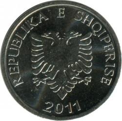 Moneda > 5lekë, 2011 - Albania  - reverse