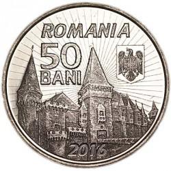 Moneta > 50banių, 2016 - Rumunija  (575th Anniversary - Reign of John Hunyadi) - obverse