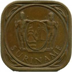 العملة > 5سنت, 1962-1972 - سورينام  - obverse