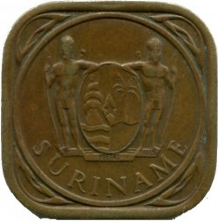 العملة > 5سنت, 1962-1972 - سورينام  - reverse