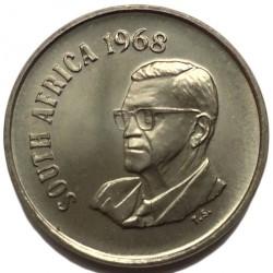 Moneta > 10centų, 1968 - Pietų Afrika  (End of Charles Robberts Swart's Presidency /SOUTH AFRICA/) - obverse