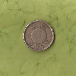 Coin > 5sen, 1889-1897 - Japan  - reverse