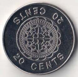 Монета > 20цента, 1987-2008 - Соломонови острови  - reverse
