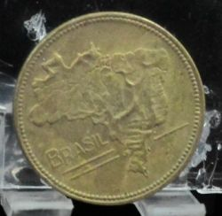 Coin > 5cruzeiros, 1942-1943 - Brazil  - reverse