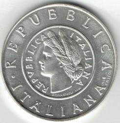 سکه > 1لیره, 2001 - ایتالیا  (History of the Lira - Lira of 1946) - reverse