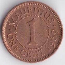 Monēta > 1cents, 1953-1978 - Maurīcija  - reverse